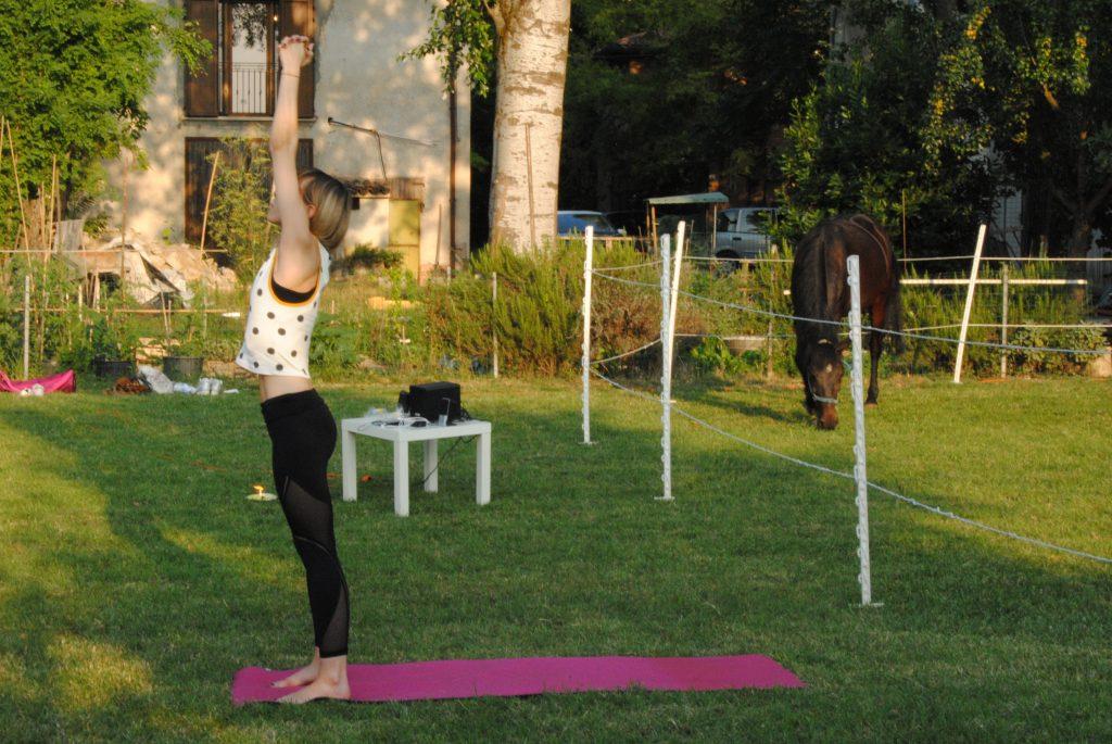 insegnante di yoga